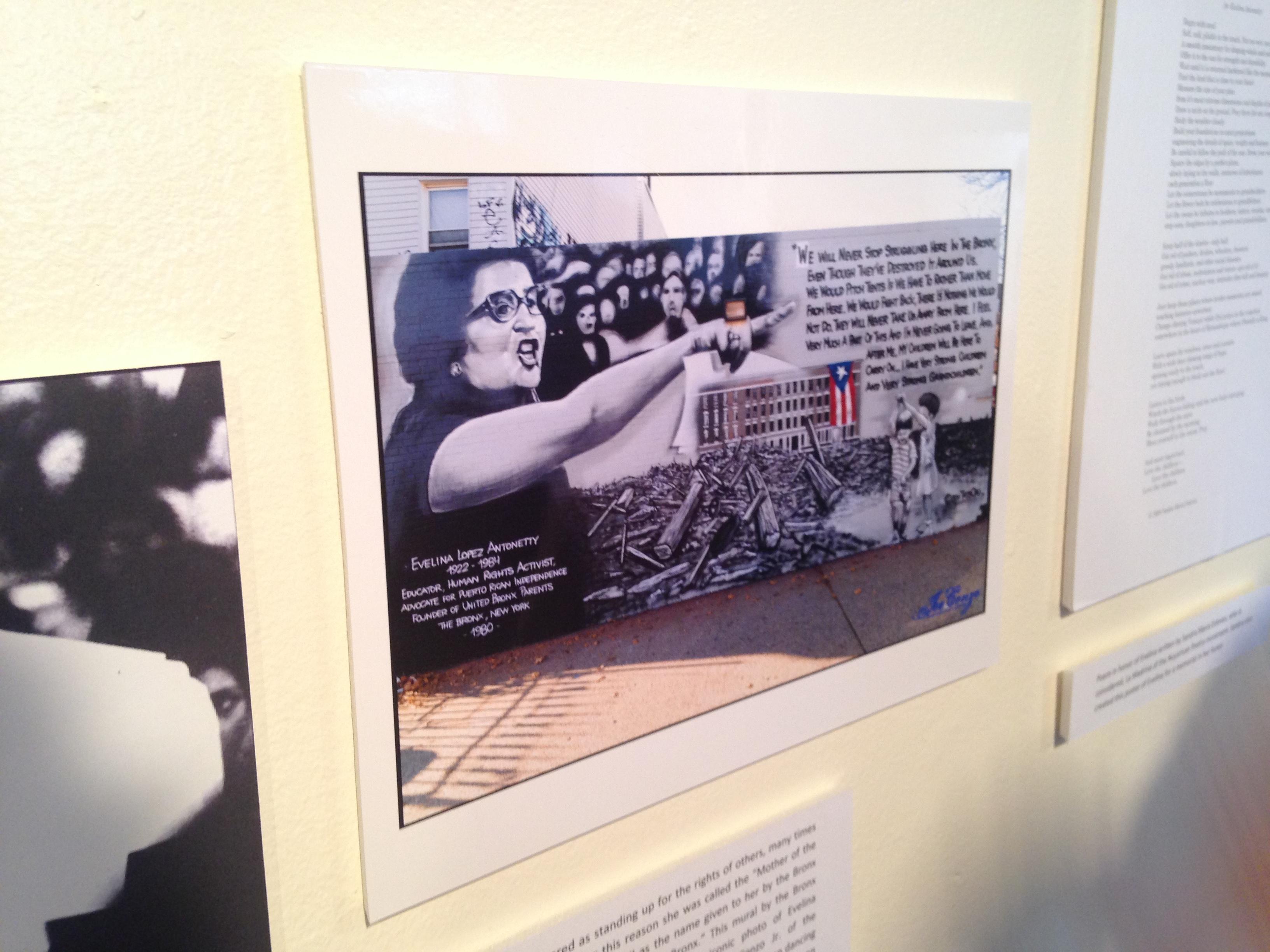 "Picture from ""Las Tres Hermanas"" exhibit"
