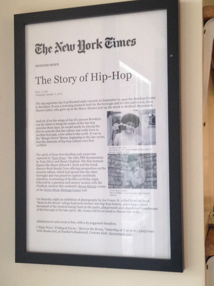 Newspaper Article about BMHC's Bobby and Elena's work